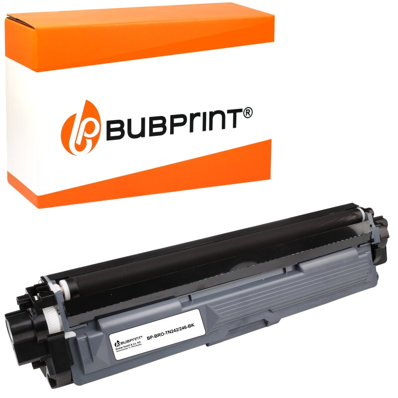 Bubprint Toner kompatibel für Brother TN-242 TN-246 black DCP-9022 CDW HL-3142 CW