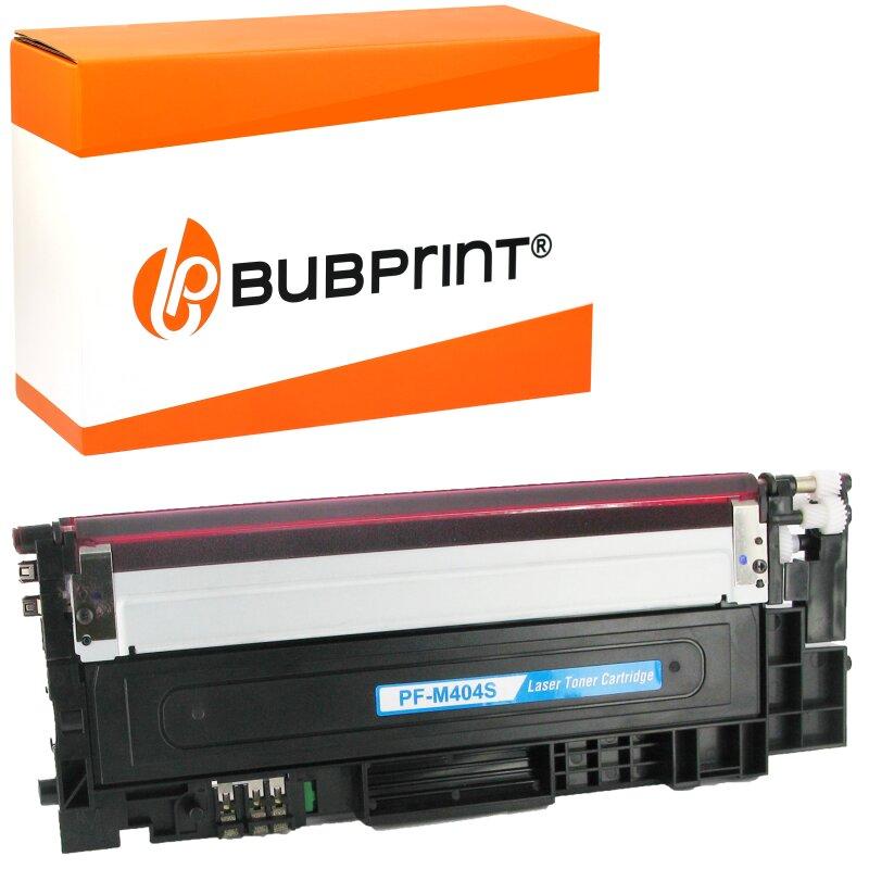 Bubprint Toner kompatibel für Samsung CLT-404S magenta Xpress C430 C480
