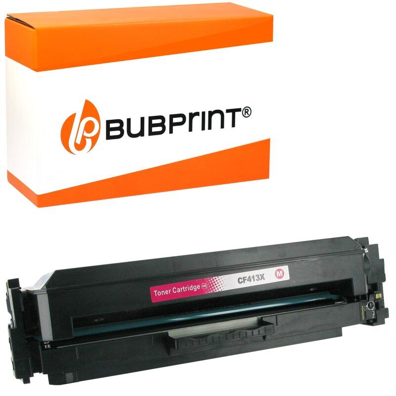 Bubprint Toner kompatibel für HP CF413X XXL HP Color LaserJet Pro MFP M477fdw M477fdn M477fnw