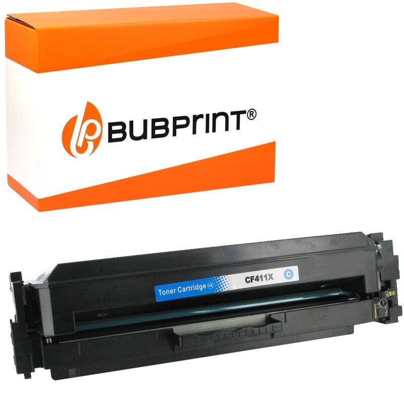 Bubprint Toner kompatibel für HP CF411X XXL HP Color LaserJet Pro MFP M477fdw M477fdn M477fnw