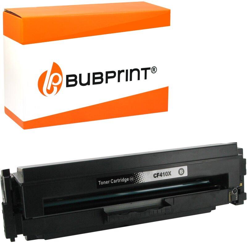 Bubprint Toner kompatibel für HP CF410X XL HP Color LaserJet Pro MFP M477fdw M477fdn M477fnw