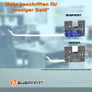 Bubprint 3x Schriftband kompatibel für Brother TZe221 TZe-221 9mm 8m SET