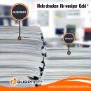 Bubprint Druckerpatrone Black kompatibel für Brother LC-123 LC123 LC-127 LC127 LC-125XL mit Chip