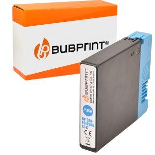 Bubprint Druckerpatrone kompatibel für Canon PGI-2500 cyan Maxify MB4050 MB5050