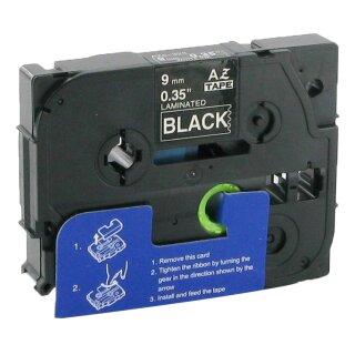 Bubprint Schriftband kompatibel für Brother TZe-325 TZe325 weiß/schwarz 9mm 8m