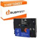 Bubprint Schriftband kompatibel für Brother TZe-335 TZe335 weiß/schwarz 12mm 8m