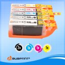 Bubprint 5 Druckerpatronen kompatibel für Canon PGI-570 CLI-571 XL set Multipack