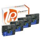 Bubprint 4x Schriftbänder kompatibel für...