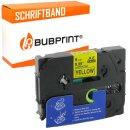 Bubprint Schriftband kompatibel für Brother TZe-631 TZe631 schwarz/gelb 12mm 8m