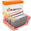 Bubprint 4 Druckerpatronen kompatibel für HP 364 XL...