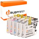 Bubprint 5 Druckerpatronen kompatibel für Brother...