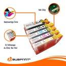 Kompatibel für Canon PGI-550 CLI-551 Pixma IP7250 Pixma MX925 MX920 Pixma IP8750 Pixma MG5550 Pixma MG5650 20er Set von Bubprint
