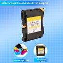 Bubprint Druckerpatrone kompatibel für Ricoh GC-41 KL GC41 XXL Yellow