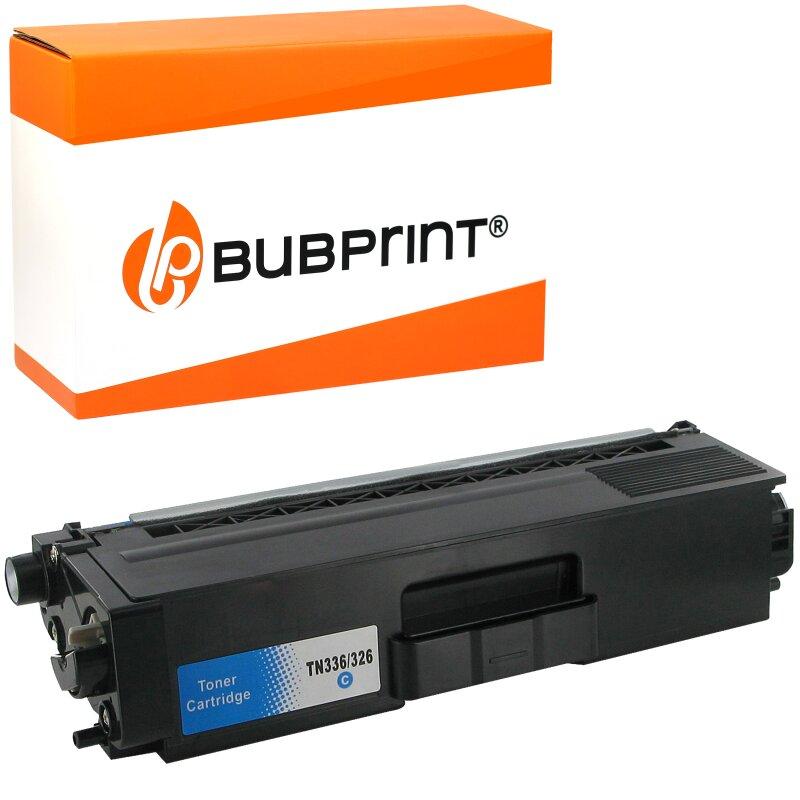 Bubprint Toner kompatibel für Brother TN-326 cyan Brother HL-L 8300 Series Brother DCP-L 8400 CDN