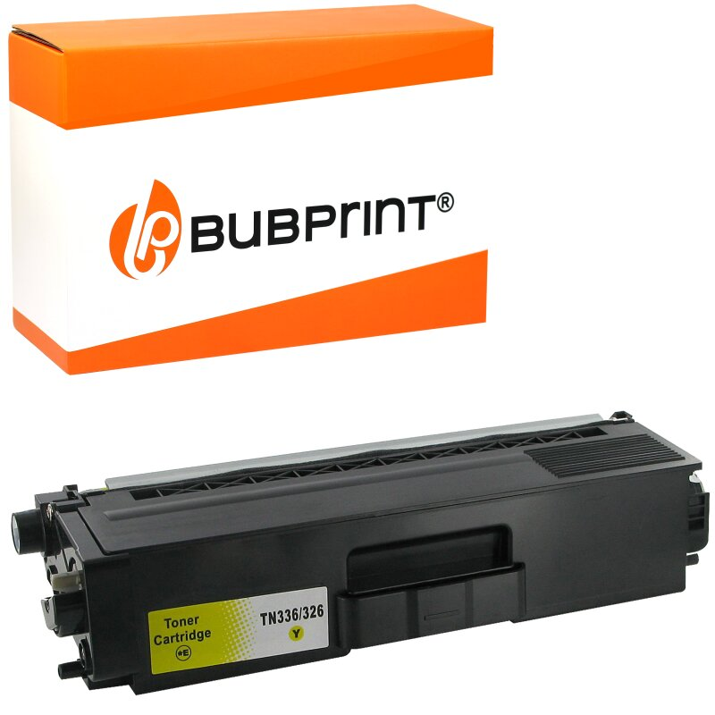 Bubprint Toner kompatibel für Brother TN-326 yellow Brother HL-L 8300 Series Brother DCP-L 8400 CDN