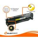Bubprint Toner kompatibel für HP CF382A  / CF312A yellow