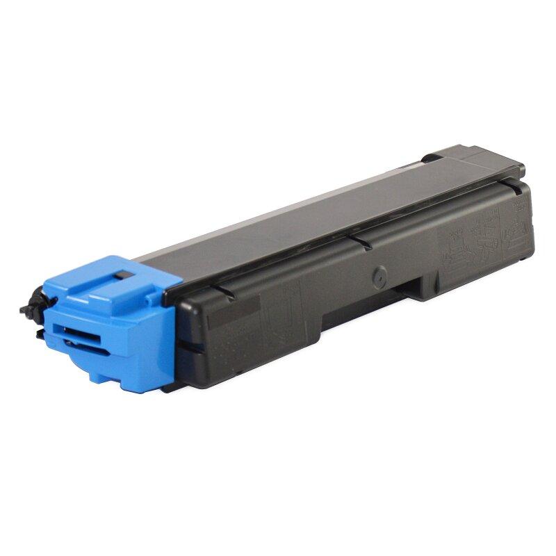 Bubprint Toner kompatibel für Kyocera TK-590 Cyan mit Chip