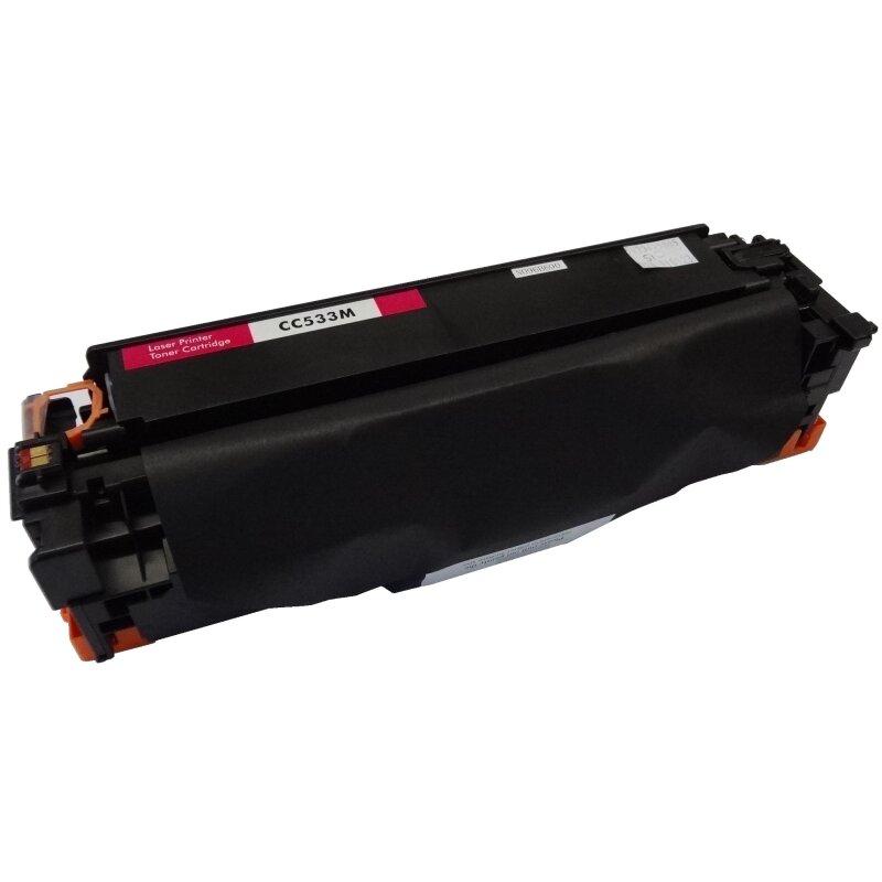 Bubprint Toner Magenta kompatibel für HP CC533A
