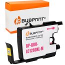 Bubprint Patrone Magenta kompatibel für Brother...