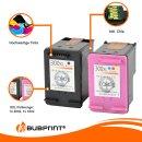 Bubprint 2 Druckerpatronen kompatibel für HP 300 XL 300XL black + color