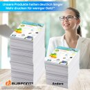 Bubprint 10 Druckerpatronen kompatibel für Brother LC1000 LC970 LC-1000 LC-970