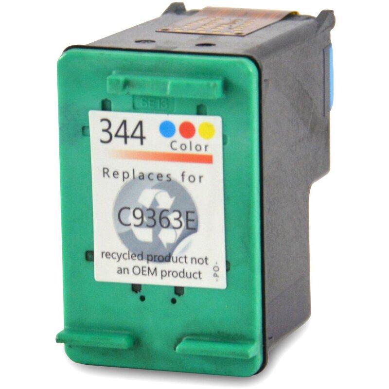 Bubprint Druckerpatrone kompatibel für HP 344 color