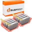 Bubprint 10 Druckerpatronen kompatibel für HP 364 XL...