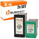 Bubprint 2 Druckerpatronen kompatibel für HP 350 XL...