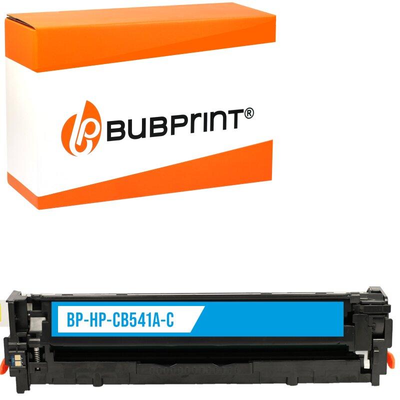 Bubprint Toner cyan kompatibel für HP CB541A