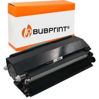 Bubprint Toner Black kompatibel für Lexmark X264 X364