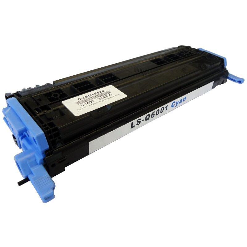 Bubprint Toner cyan kompatibel für HP Q6001A