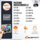 Bubprint Toner cyan kompatibel für Samsung CLP-320...
