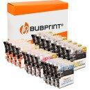 Bubprint 20 Druckerpatronen kompatibel für Brother...
