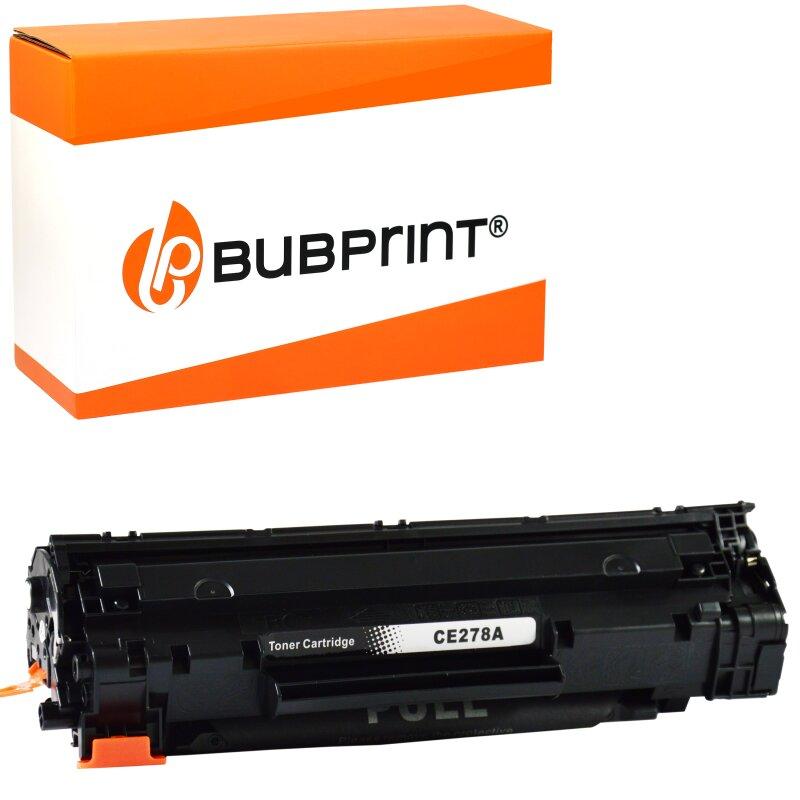 Bubprint Toner black kompatibel für HP CE278A