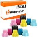 Bubprint 12 Druckerpatronen kompatibel für HP 363