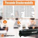 Bubprint Toner Black kompatibel für HP CC530A Color...