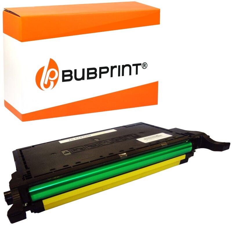Bubprint Toner Yellow kompatibel für Samsung CLP-620 CLP620