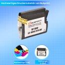 Bubprint Patrone Black kompatibel für Brother LC1000 LC970 LC-1000 LC-970
