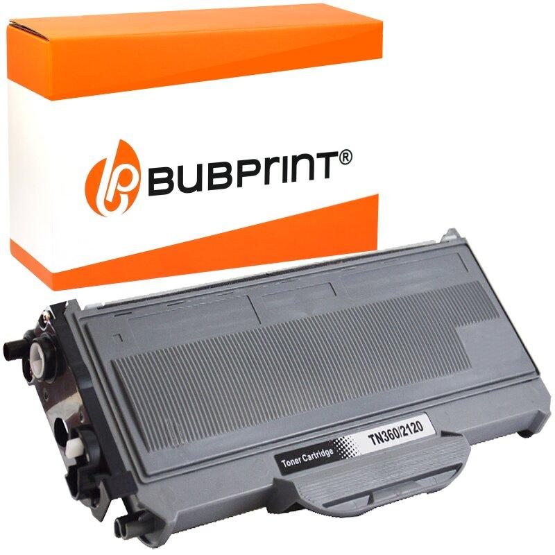 Bubprint Toner kompatibel für Brother TN-2120 UHC (5.200S) black DCP-7030