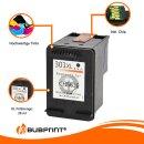 Bubprint Druckerpatrone black kompatibel für HP 301 XL 301XL für HP Deskjet 1050 2050 2540 3050 Envy 4500