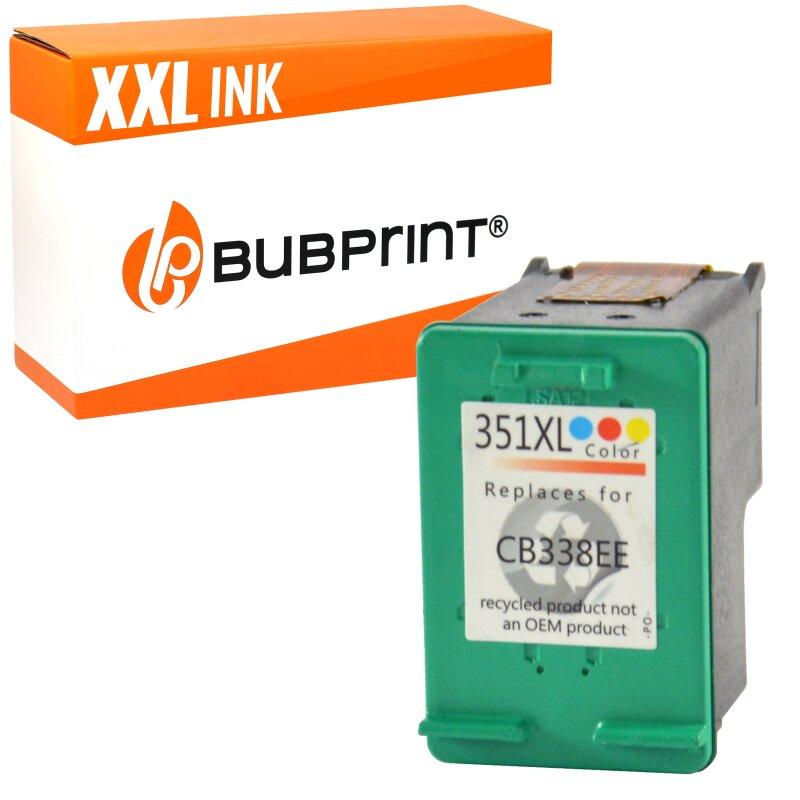 Bubprint Druckerpatrone kompatibel für HP 351 XL color 351XL