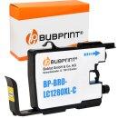Bubprint Patrone Cyan kompatibel für Brother LC-1280...