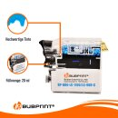 Bubprint Patrone Cyan kompatibel für Brother LC1100 LC980 LC-1100 LC-980