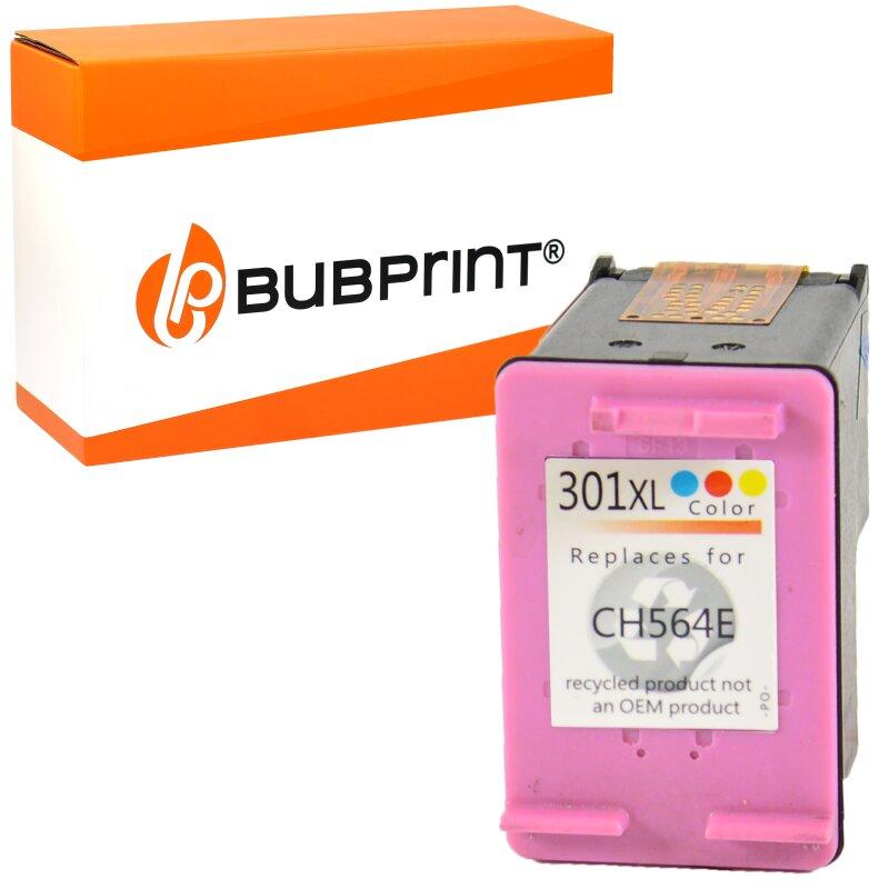 Bubprint Druckerpatrone color kompatibel für HP 301 XL 301XL für HP Deskjet 1050 2050 2540 3050 Envy 4500