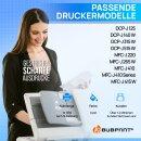 Bubprint Druckerpatrone Cyan kompatibel für Brother LC985 LC-985