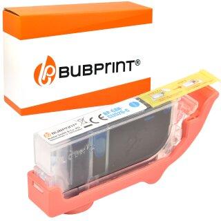 Bubprint Patrone kompatibel für Canon CLI-526 Cyan mit Chip