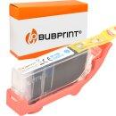 Bubprint Druckerpatrone cyan kompatibel für Canon...