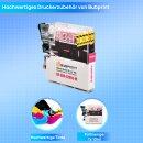 Bubprint Druckerpatrone Magenta kompatibel für Brother LC985 LC-985