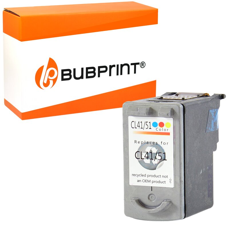 Bubprint Druckerpatrone kompatibel für Canon CL-41 Color