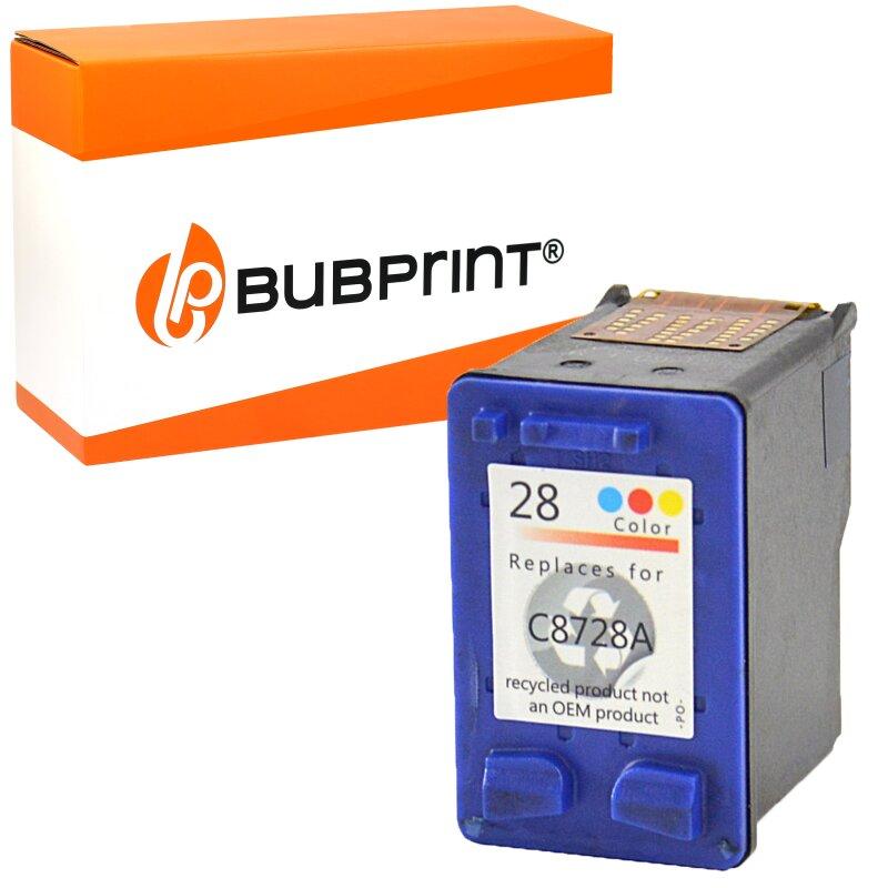 Bubprint Druckerpatrone kompatibel für HP 28 color